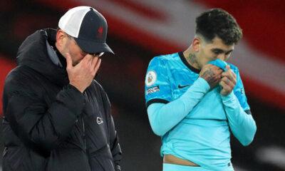 Son şampiyon Liverpool, Southampton'a boyun eğdi
