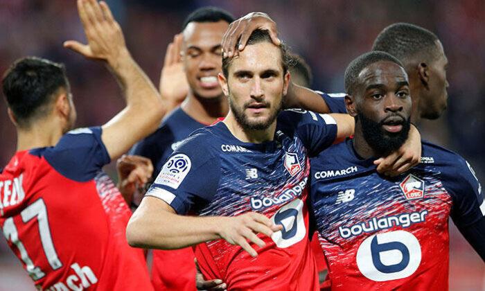 Yusuf Yazıcı, Fransa Ligue 1'de ayın futbolcusu seçildi!