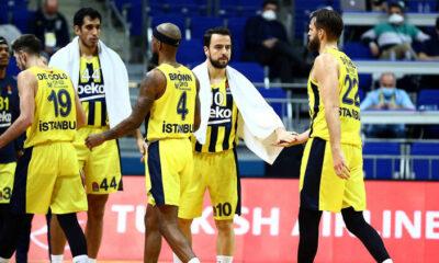 Anadolu Efes maçı öncesi Fenerbahçe Beko'da 1 pozitif vaka