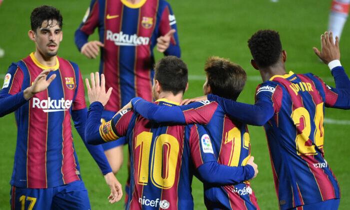 Barcelona, Alaves'e gol yağdırdı