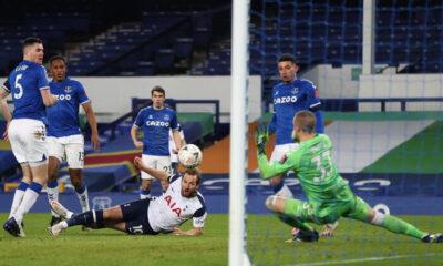 Everton, 9 gollü çılgın maçta Tottenham'ı eledi