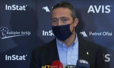 Fenerbahçe Başkanı Ali Koç'tan Galatasaray derbisi açıklaması!