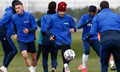 Fenerbahçe öncesi Trabzonspor'da sürpriz! İki genç oyuncu daha…