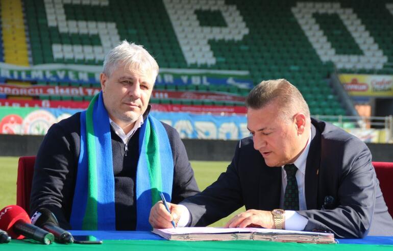 Marius Sumudica, Çaykur Rizespor ile sözleşme imzaladı İlk sözleri...