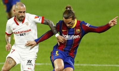 Sevilla 2-0 Barcelona / Maçın özeti ve golleri