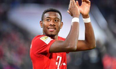 Son Dakika: David Alaba, Bayern Münih'ten ayrılacağını açıkladı!