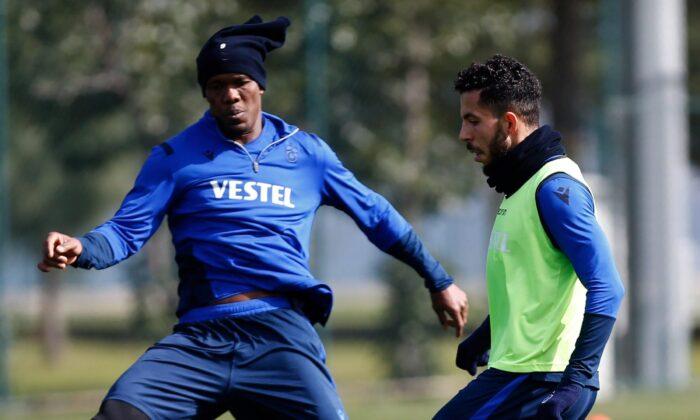 Trabzonspor'da Yusuf Sarı antrenmana çıkmadı