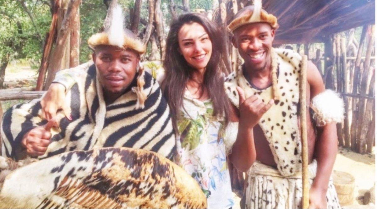 Tuvana Türkay ın Afrika anısı #1