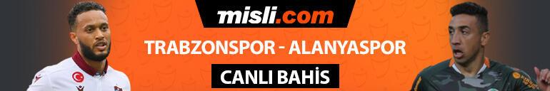 Alanyaspor savunmanın bel kemiğini deplasmana götürmedi Trabzonsporun iddaa oranı...