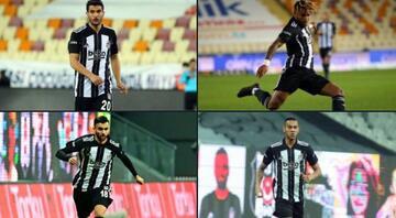 Beşiktaşta Fenerbahçe derbisi öncesi 4 futbolcu sarı kart ceza sınırında