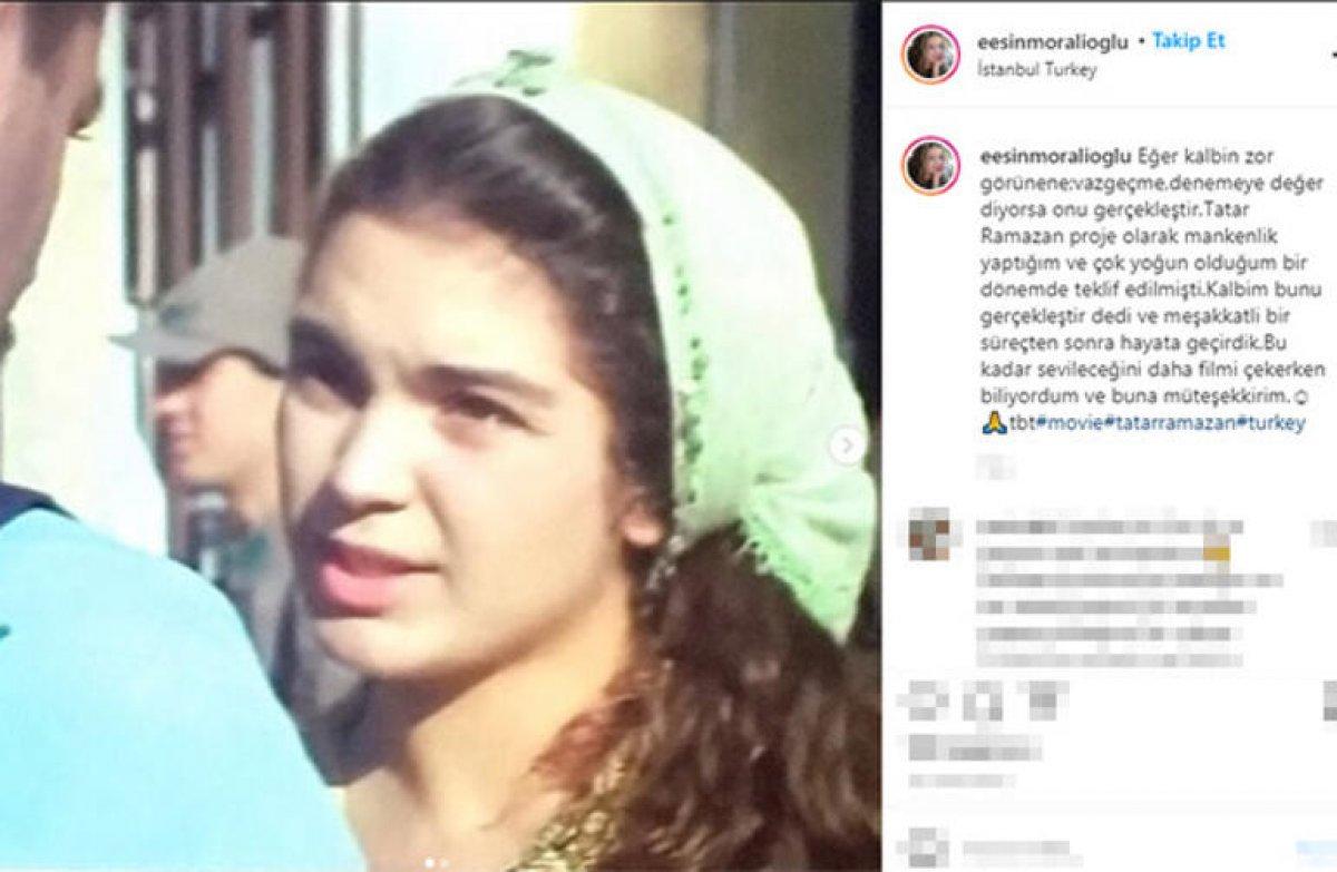Esin Moralıoğlu'ndan Tatar Ramazan itirafı