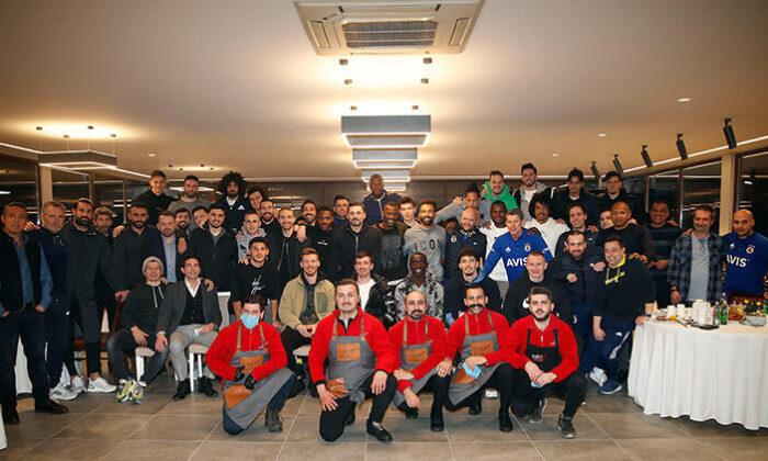 Fenerbahçe'de barbekü partisi!