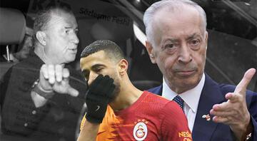 Son dakika: Galatasarayda Younes Belhandanın sözleşmesi feshedildi