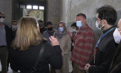 Guy Ritchie, Ayasofya ve Topkapı Sarayı'nı gezdi