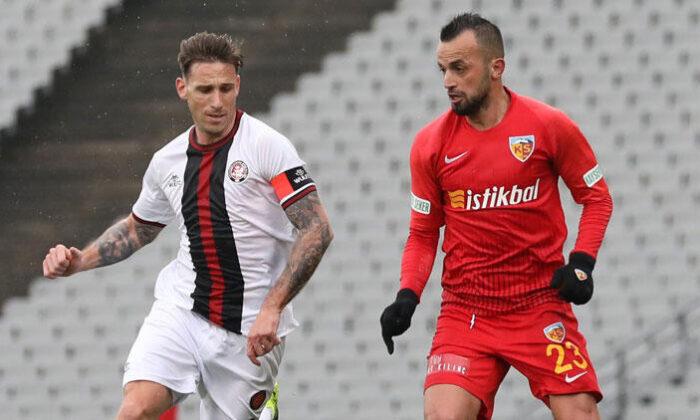 Karagümrük 3-0 Kayserispor / Maç sonucu