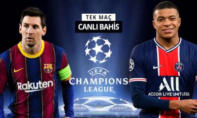Messi mi, Mbappe mi? Neymar'ın yokluğunda PSG'nin Barcelona karşısında iddaa oranı…