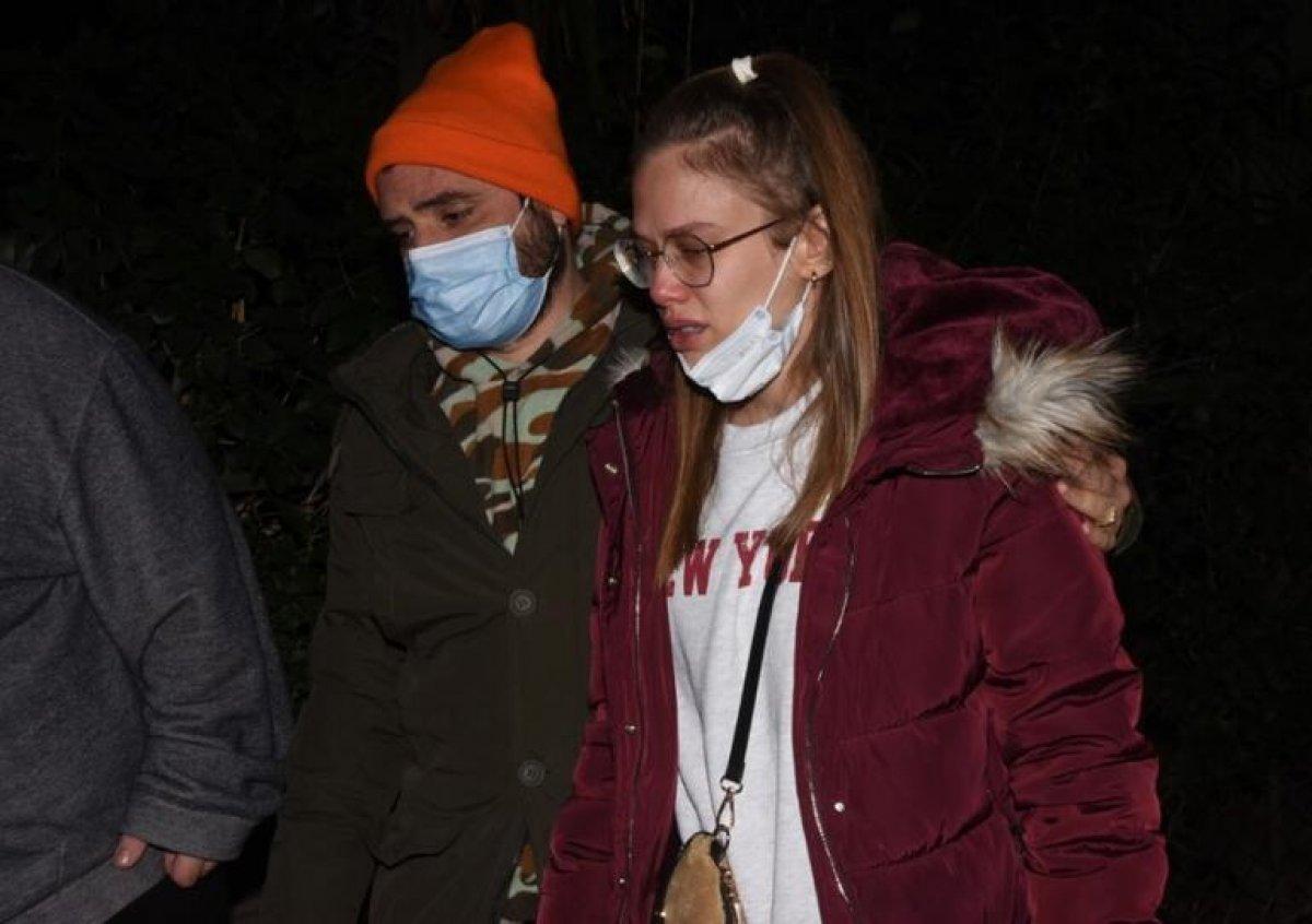Ceyhun Fersoy ve Begüm Öner gözyaşlarına boğuldu