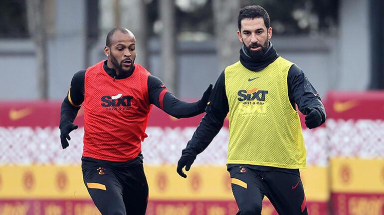 Galatasaray, Hatayspor maçına 10 eksikle hazırlandı