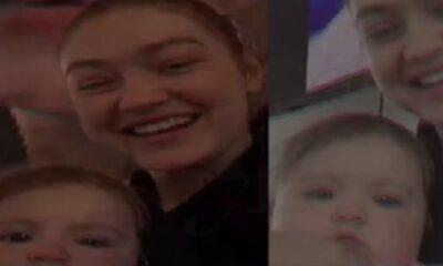 Gigi Hadid kızını paylaştı