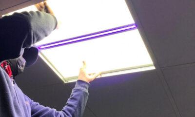 Korona virüse karşı nano ışık sistemi