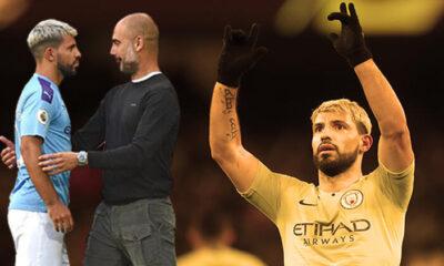 Manchester City, Sergio Agüero'nun ayrılacağını açıkladı
