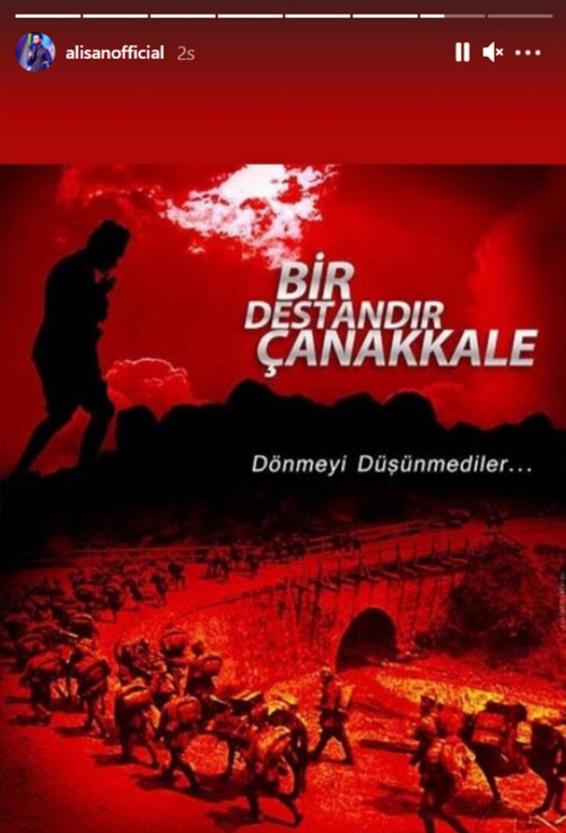 Ünlülerden 18 Mart Çanakkale Zaferi paylaşımları