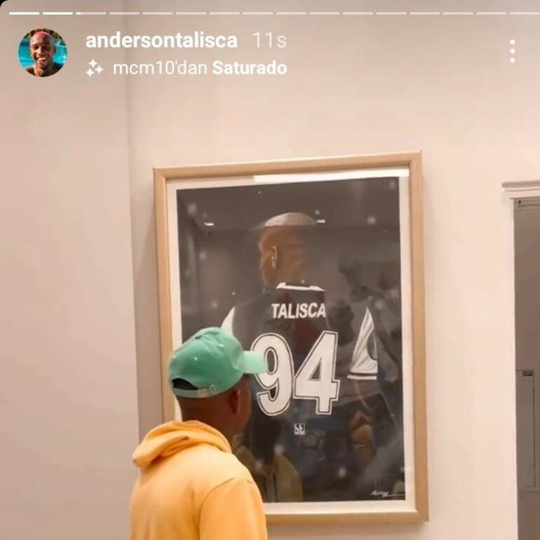 Eski Beşiktaşlı Anderson Taliscadan taraftarları heyecanlandıran paylaşım