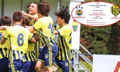Fenerbahçe-Ankaragücü U19 Gelişim Ligi maçına ilginç atama! Hakem Ali Koç…