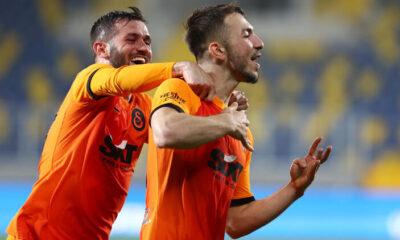 Galatasaray'da Halil Dervişoğlu'ndan gol sevinci açıklaması