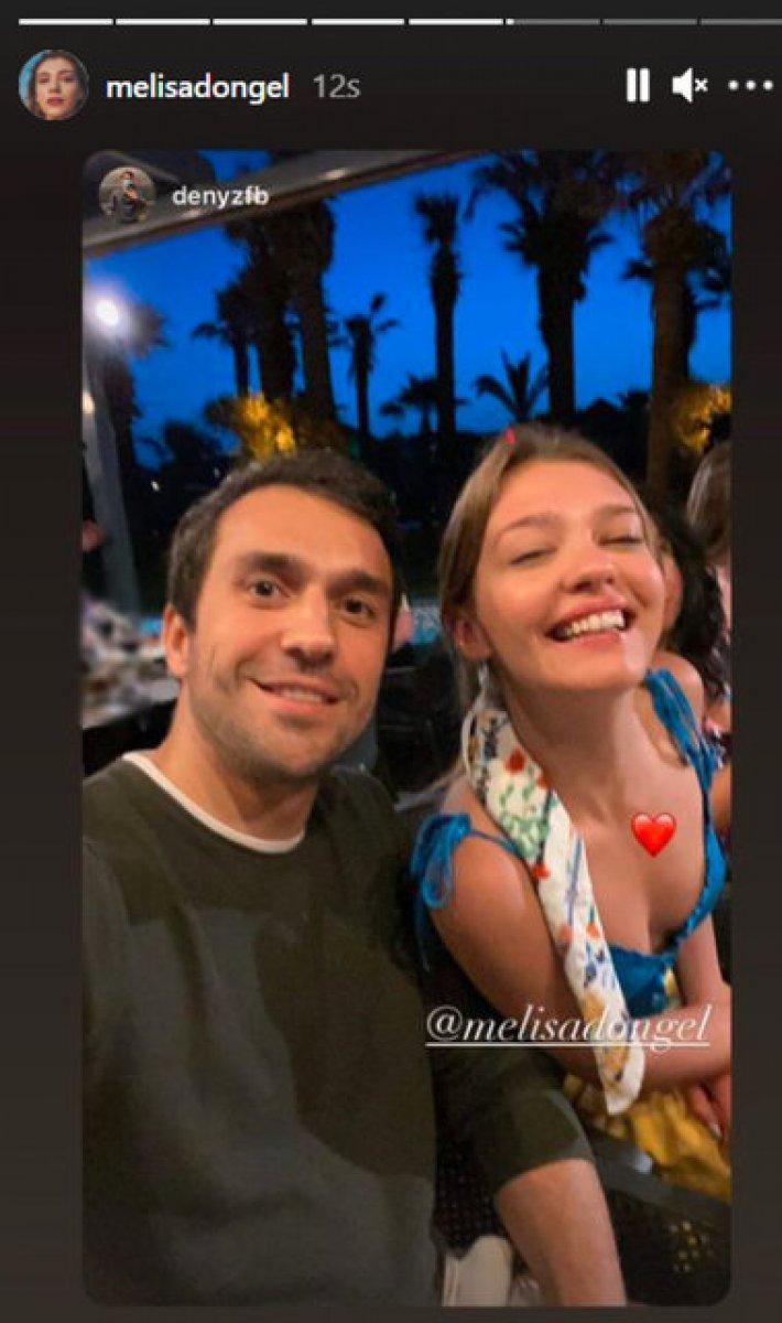 Melisa Döngel ile Deniz Şahin aşk yaşıyor #1
