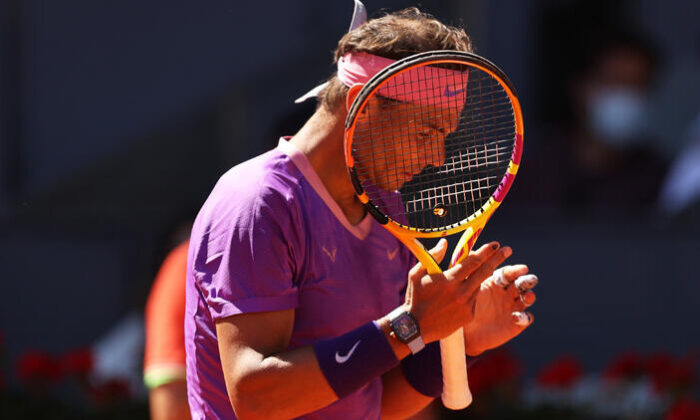 Nadal, Madrid Açık'a çeyrek finalde veda etti