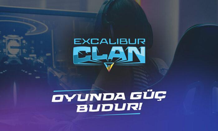Oyun tutkunlarının yeni buluşma noktası Excalibur Clan yayında
