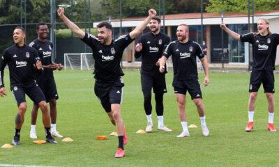 Son dakika: Beşiktaş'ta Galatasaray öncesi Adem Ljajic ve Gökhan Töre sevinci! Aboubakar ise…